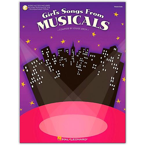 Hal Leonard Girl's Songs From Musicals Book/Online Audio