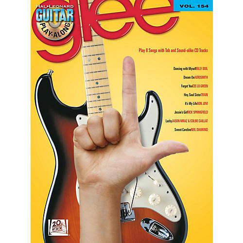 Hal Leonard Glee - Guitar Play-Along Volume 154 Book/CD-thumbnail