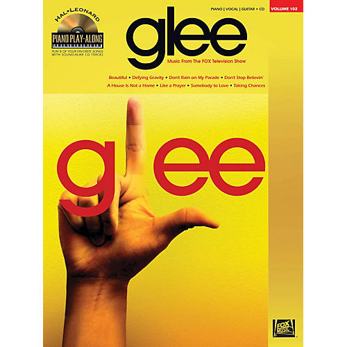 Hal Leonard Glee - Piano Play-Along Volume 102 Book/CD-thumbnail