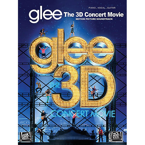 Hal Leonard Glee - The 3D Concert Movie Motion Picture Soundtrack PVG Songbook-thumbnail