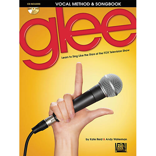 Hal Leonard Glee - Vocal Method & Songbook (Book/CD)-thumbnail