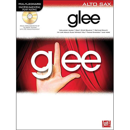 Hal Leonard Glee For Alto Sax - Instrumental Play-Along Book/CD