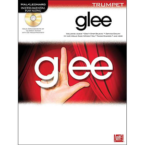 Hal Leonard Glee For Trumpet - Instrumental Play-Along Book/CD-thumbnail