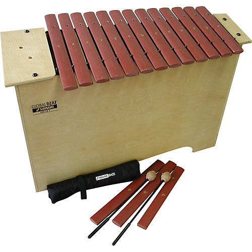 Sonor Global Beat Deep Bass Xylophone with Fiberglass Bars-thumbnail