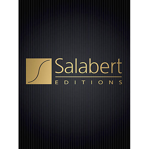 Editions Salabert Gloria (Cantata) (Study Score) Score Composed by Francis Poulenc