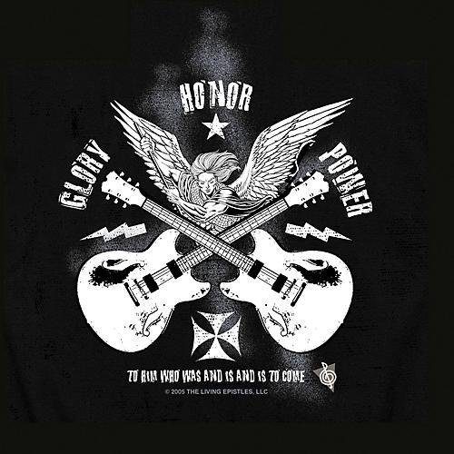 Musician's Friend Glory Angel T-Shirt-thumbnail