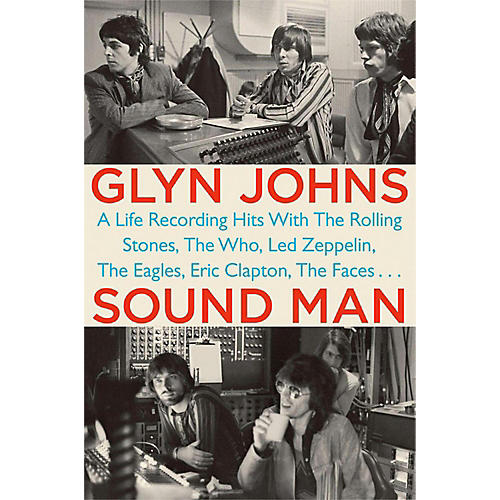 Penguin Books Glyn Johns: Sound Man Hardcover Book