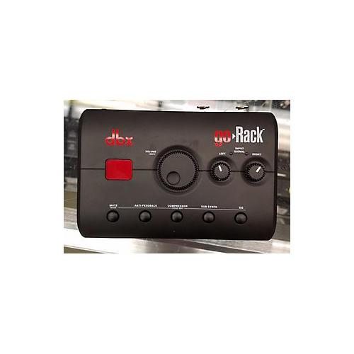 dbx Go Rack Audio Interface