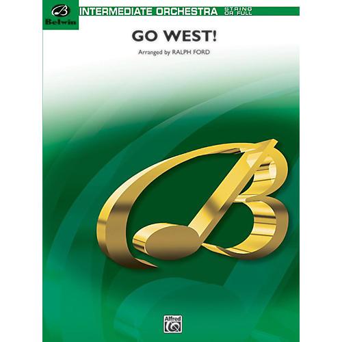 BELWIN Go West! (Medley) Grade 2-thumbnail