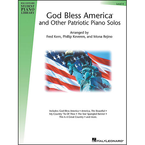 Hal Leonard God Bless America And Other Patriotic Piano Solos Level 4 Hal Leonard Student Piano Library-thumbnail