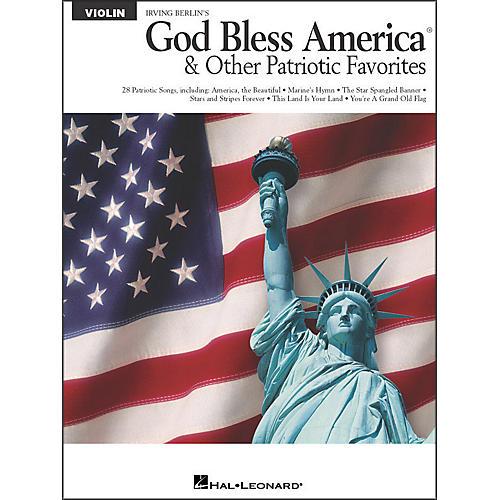 Hal Leonard God Bless America & Other Patriotic Favorites - Violin-thumbnail