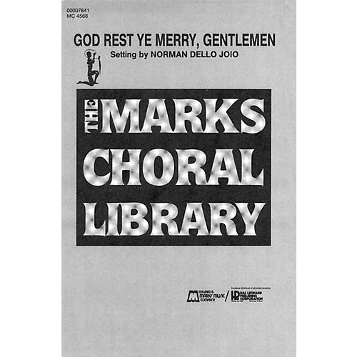 Hal Leonard God Rest Ye, Merry Gentlemen (SATB, piano 4 hands) SATB