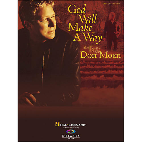 Hal Leonard God Will Make A Way: The Best Of Don Moen Pvg arranged for piano, vocal, and guitar (P/V/G)-thumbnail