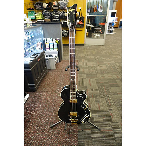 used hofner gold label club bass electric bass guitar black and gold guitar center. Black Bedroom Furniture Sets. Home Design Ideas
