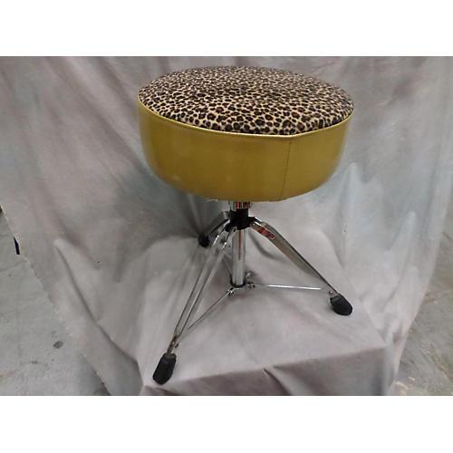 used pork pie gold lepard drum throne guitar center. Black Bedroom Furniture Sets. Home Design Ideas