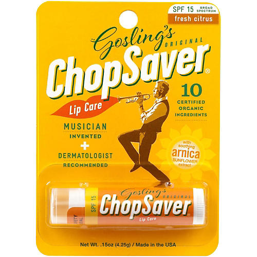 ChopSaver Gold Lip Balm with SPF Protection