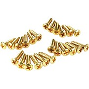 Gold Pickguard Screws