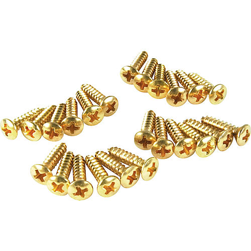 Fender Gold Pickguard Screws-thumbnail