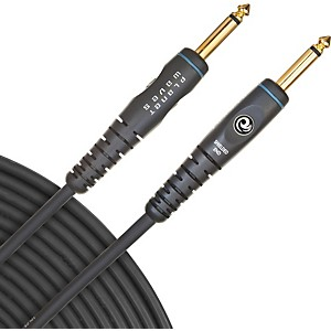 Daddario Planet Waves Gold-Plated 1/4 inch Straight Instrument Cable