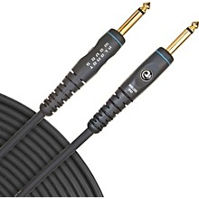 "D'Addario Planet Waves Gold-Plated 1/4"" Straight Instrument Cable Level 1  15 ft."