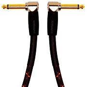 """Roland Gold Series 1/4"""" Angled/Angled Instrument Cable"""