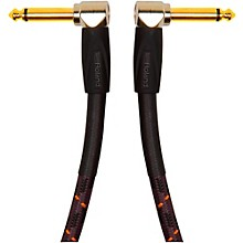 "Roland Gold Series 1/4"" Angled/Angled Patch Cable"