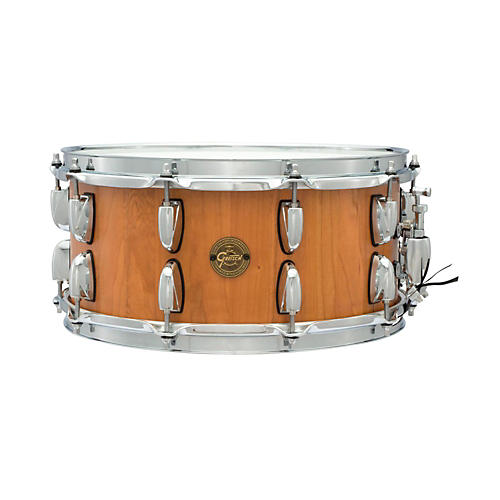 Gretsch Drums Gold Series Cherry Stave Snare Drum 14 x 6.5-thumbnail