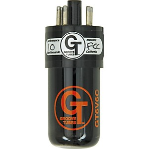 Groove Tubes Gold Series GT-6V6-C Matched Power Tubes by Groove Tubes
