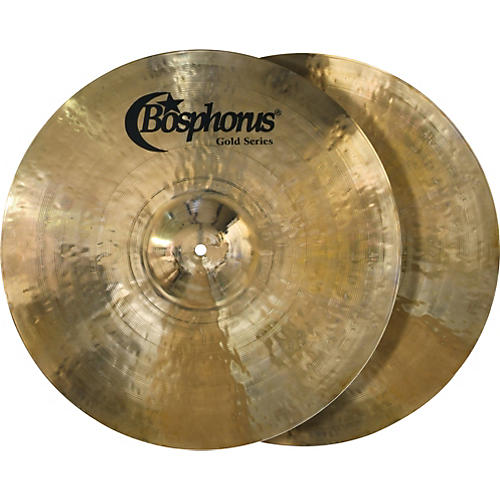 Bosphorus Cymbals Gold Series Hi-Hat Cymbal Pair