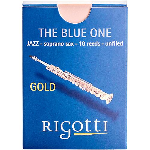 Rigotti Gold Soprano Saxophone Reeds Strength 3.5 Light