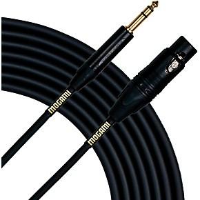 mogami gold studio 1 4 trs female xlr cable 15 ft guitar center. Black Bedroom Furniture Sets. Home Design Ideas