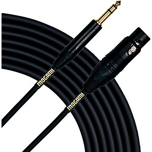 Mogami Gold Studio 1/4 inch TRS-Female XLR Cable by Mogami