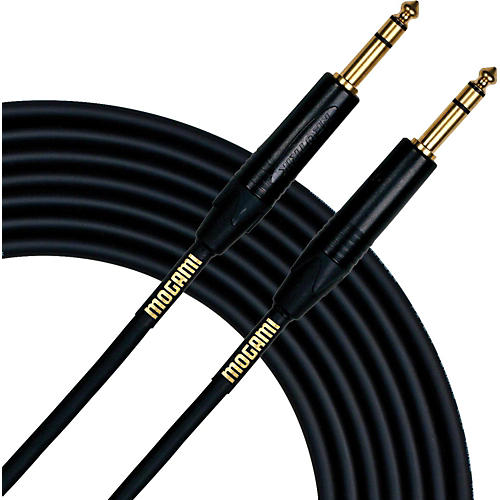 Mogami Gold TRS Patch Cable 3 ft.