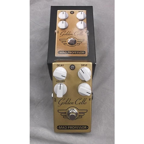 Mad Professor Golden Cello Delay Overdrive Effect Pedal-thumbnail