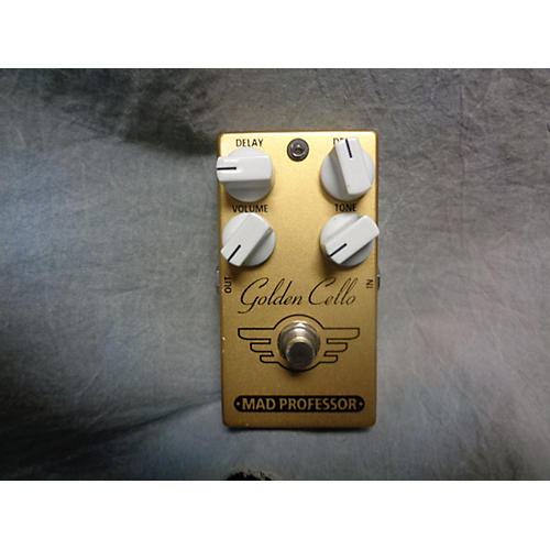 Mad Professor Golden Cello Delay Overdrive Gold Effect Pedal