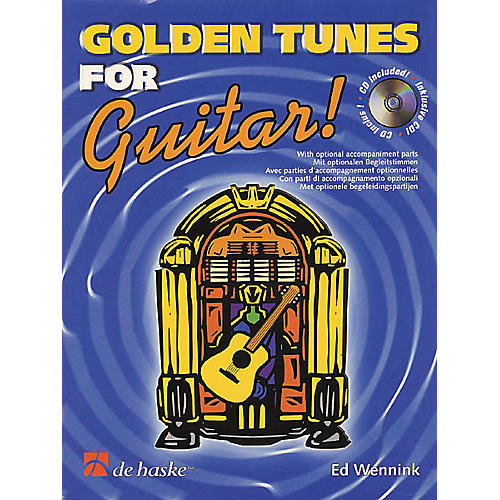 De Haske Music Golden Tunes for Guitar! Book with CD-thumbnail