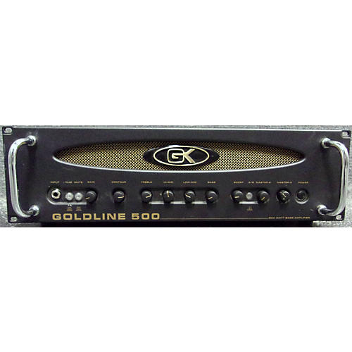 Gallien-Krueger Goldline 500 Bass Amp Head