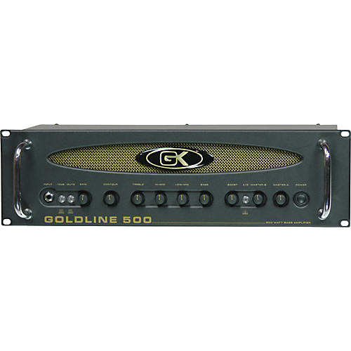 Gallien-Krueger Goldline 500 Bass Head