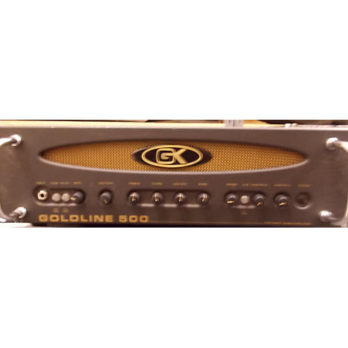 Gallien-Krueger Goldline 500 Black Bass Amp Head