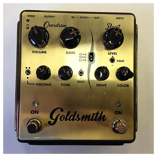 Egnater Goldsmith Overdrive/Boost Effect Pedal-thumbnail