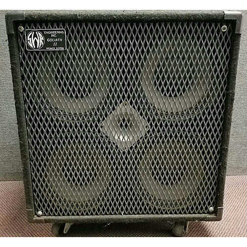 SWR Goliath II 4x10 Bass Cabinet-thumbnail