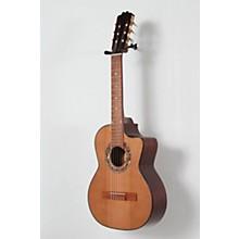 Paracho Elite Guitars Gonzales 6 String Requinto Level 2 Natural 888366053355