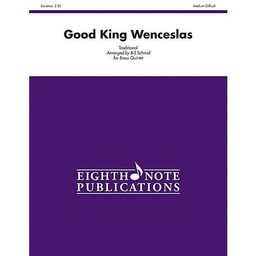Alfred Good King Wenceslas Brass Quintet Score & Parts