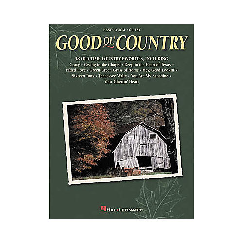 Hal Leonard Good Ol' Country Songbook-thumbnail