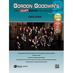 Alfred Gordon Goodwins Big Phat Band Play-Along Series Drums Vol. 2 Book &... by Alfred