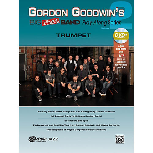 Alfred Gordon Goodwin's Big Phat Band Play-Along Series Trumpet Vol. 2 Book & DVDRom