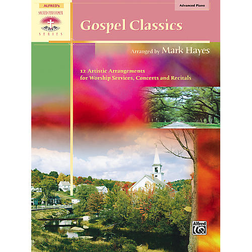 Alfred Gospel Classics Advanced Piano-thumbnail