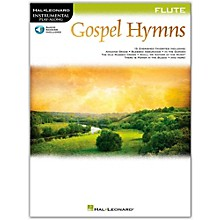 Hal Leonard Gospel Hymns For Flute Instrumental Play-Along Book/Audio Online