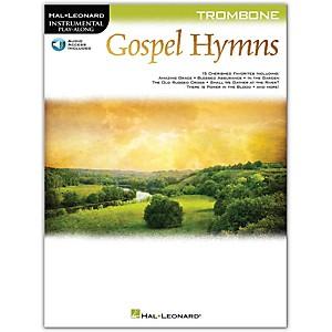 Hal Leonard Gospel Hymns For Trombone Instrumental Play-Along Book/Audio On...