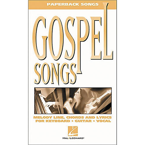 Hal Leonard Gospel Songs Piano, Vocal, Guitar Songbook-thumbnail